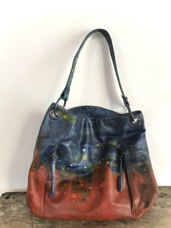 Painting on Secondhand Handbags 3 • Accessories