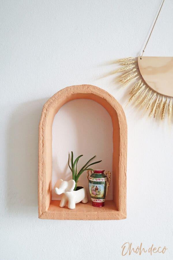 DIY cardboard Shelf 1 • Recycled Cardboard