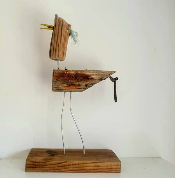 Salvaged Wood & Metal Sculptures by J J Designs 7 • Recycled Art