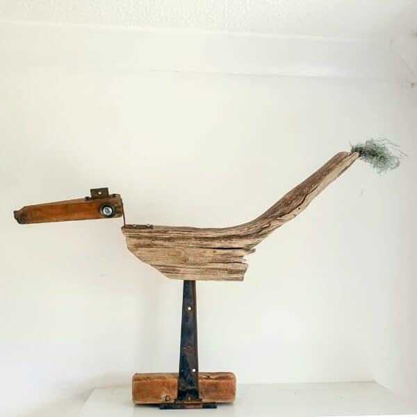 Salvaged Wood & Metal Sculptures by J J Designs 9 • Recycled Art