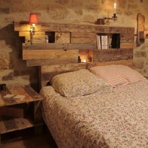 Lighting-Pallets-Bed-Headboard-with-Side-Table