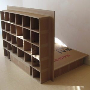 Carboard bed