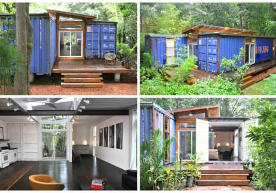 Container modern house in Savannah 1