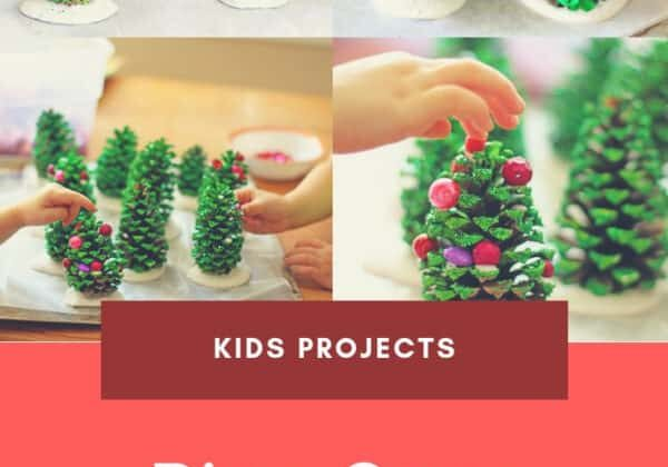 recyclart.org-easy-recycling-kids-project-pine-cone-christmas-trees-05