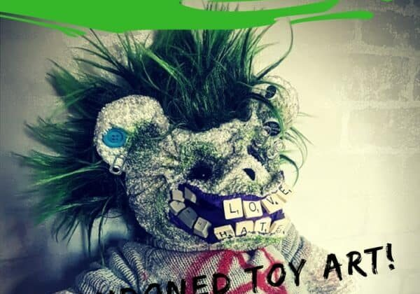 recyclart.org-green-devil-punk-bear-from-upcycled-items-16