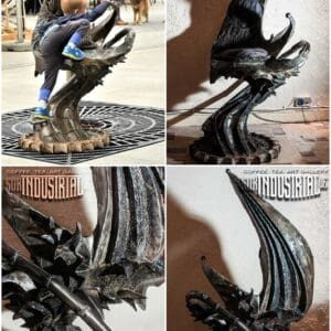 H.R. Giger tribute Throne 1