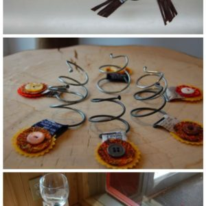 Identifiers for glasses of wine 1