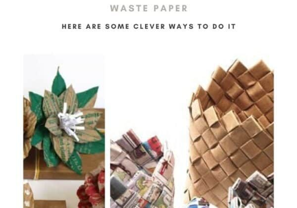 It's the Moment to Reuse Waste Paper - Here Are Some Clever Ways to Do It