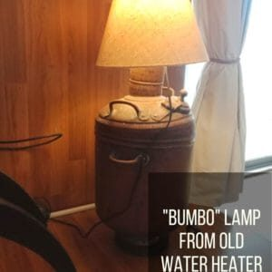 Lamp From Old Water Heater