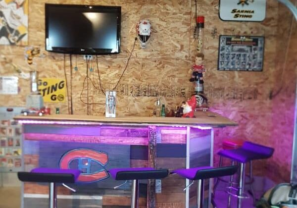 Add LED lighting and any bar becomes more awesome, including this one!