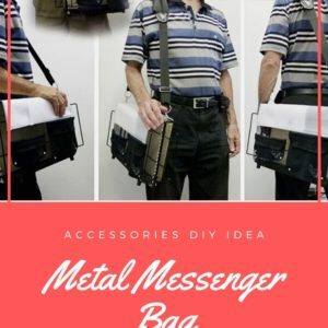 Metal Messenger Bag