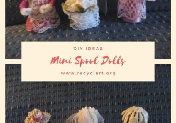 Mini Spool Dolls