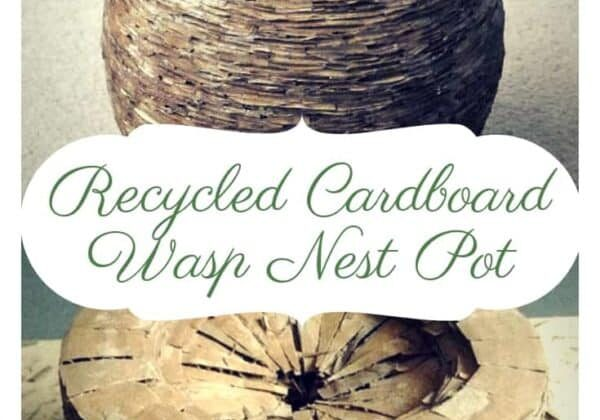 recyclart.org-recycled-cardboard-wasp-nest-pot-2