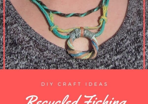 Recycled Fishing Rope Into Necklace