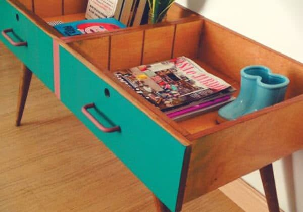 recyclart.org-repurpose-two-drawers-into-a-vintage-side-table-01