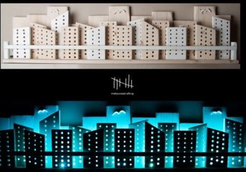 recyclart.org-wooden-city-with-lights