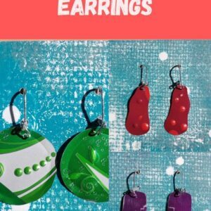 Soda Can Earrings