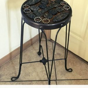 Upcycled Barstool