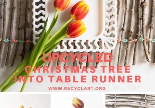 recyclart.org-upcycled-christmas-tree-into-table-runner-5