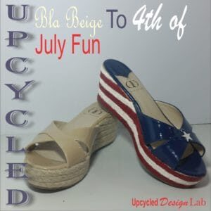recyclart.org-upcycled-fourth-of-july-shoe-fun
