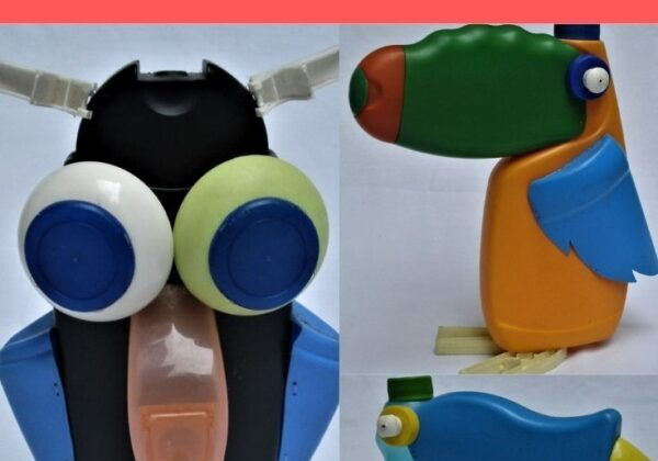 Upcycled Toys from Plastic Bottles