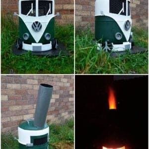 VW log burner