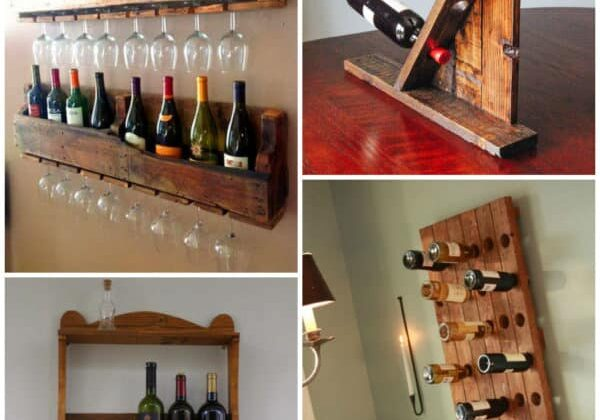 WINE RUGS MADE FROM PALLET  WOOD 1